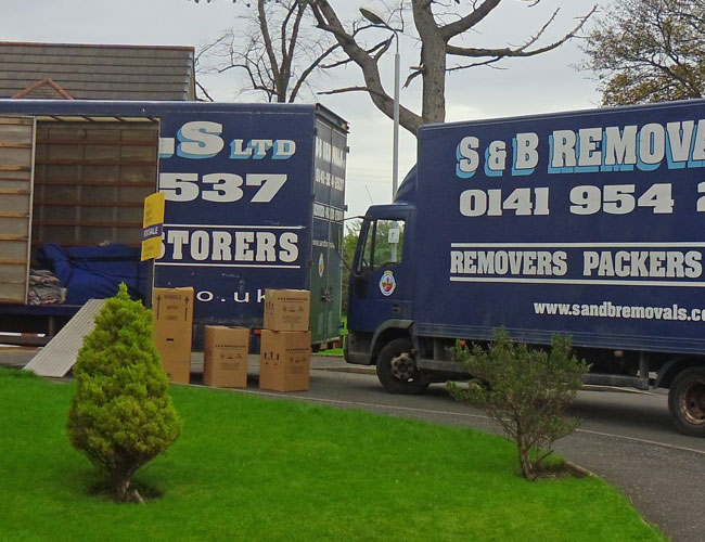 removals glasgow